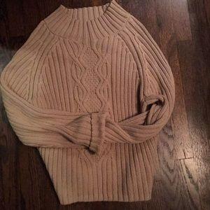 Liz Claiborne Cable Knit Sweater L